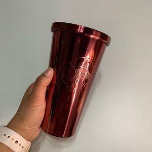 Starbucks 16oz Maroon Tumbler